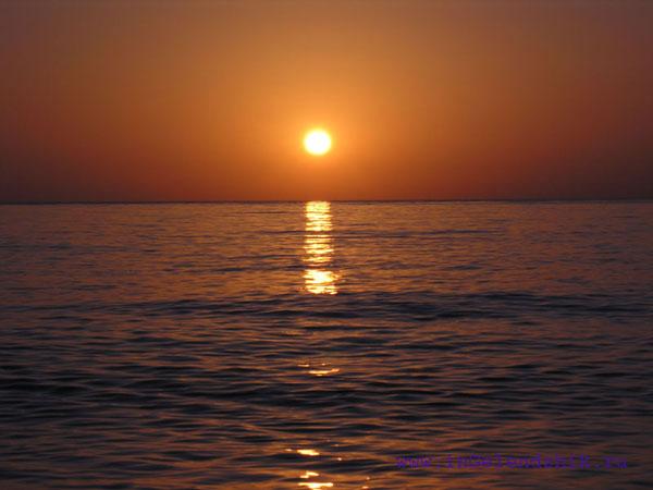 Геленджик 2007 сентябрь. Джанхот, закат