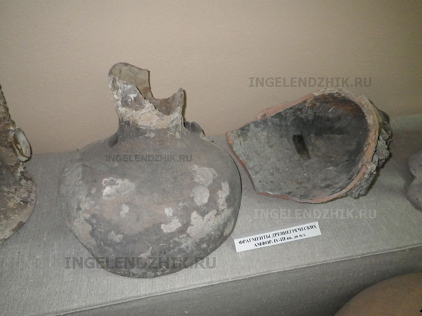 Геленджик фрагменты древнегреческих амфор