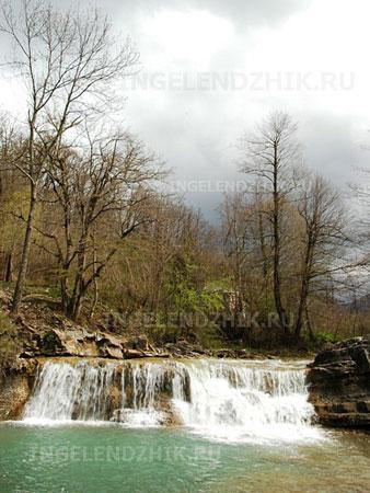 Геленджик водопад